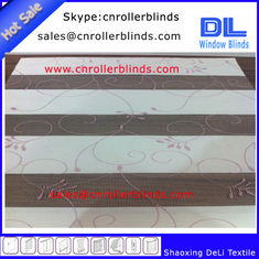 Propular Embroidery Zebra Blinds with 250cm width