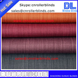 China Performance both sides same color coating Blackout Roller Blinds Fabric supplier