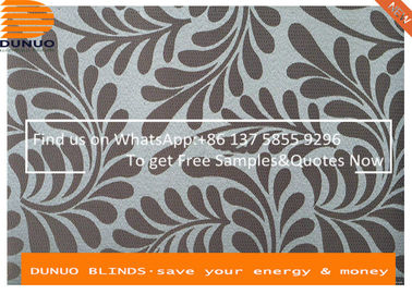 China Luxury Curtain Fabric Jacquard Blackout Roller Blinds Vertical Blind supplier