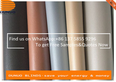 Vibe Blackout roller blinds with both sides same color coating