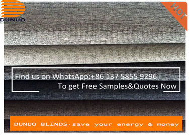 Texture roller blinds fabric blackout roller blinds ,both sides same color coating window blinds from china manufacturer