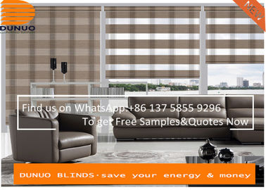 Pleat Zebra Blinds roller blinds manufacturer and roller blinds supplier--China Dunuo Textile Company Limited..jpg